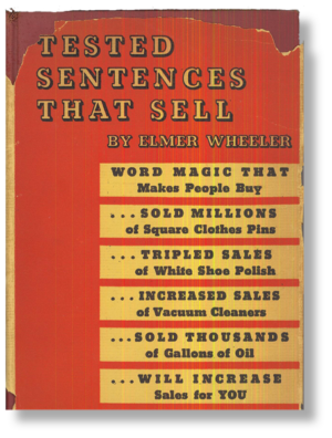 Tested Sentences That Sell by Elmer Wheeler